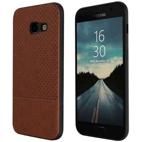 """Back Case Qult """"Drop"""" für Samsung A520 A5 2017, braun"""
